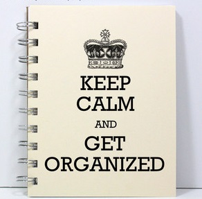Keep Calm and Get Organized Lyme
